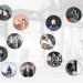 Chet Faker, BOY, Me and My Drummer, Deichkind, Woodkid, Joy Denalane, Marteria, Jan Böhmermann, Nneka, Fiva MC, Bela B, Clueso, Patrice, Fettes Brot, Max Herre und William Fitzsimmons: Drei dieser 16 Künstler sind noch nicht im Karlstorbahnhof aufgetreten Welche? (Fotos entsprechend der Reihenfolge der Künstler: Misha Vladimirskiy, Debora Mittelstaedt, Sashberg, Jonas Lindström, Mathieu Cesar, Jackie Hardt, Paul Ripke, obs/ZDF/ZDF/Ben Knabe, Hugues Lawson-Body, Nina Stiller, KKT, Christoph Koestlin, Joyce Ilg, Jens Herrndorff, Ronald Dick, Erin Brown; Hintergrund: VG Bildkunst / Frank Rossi)