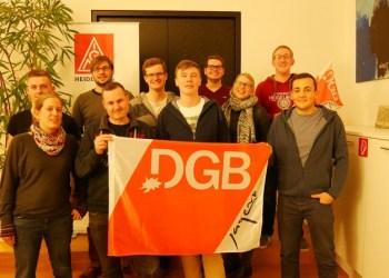 Die Mitglieder der neuen Hoschulgruppe der DGB. Bild: Dgb-Hochschulgruppe.