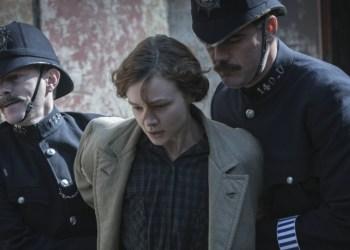 Maud Watts (Carey Mulligan) wird nach einer Aktion der Suffragetten zum wiederholten Mal verhaftet. Bild: Concorde Filmverleih GmbH