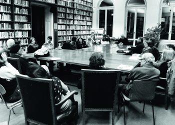 """Bei der """"Discussion Group"""" im DAI kann es schon mal kontrovers zugehen. Bild: DAI Heidelberg"""
