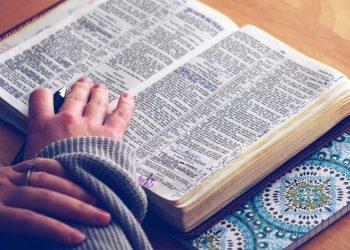 Religiöse Lektüre: Für manche Studierende neben der Fachliteratur wichtig. Bild: pixabay