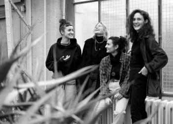 Sie starten gerade durch: Paula Theiss (23), Marie Sauter (20) Sofia Leser (24) und Nadine Tress (23). Foto: Halima Amilah