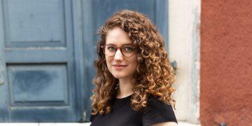 Désirée Link vom Anglistischen Seminar im Interview mit unserer Autorin. Foto: Lena Beisel