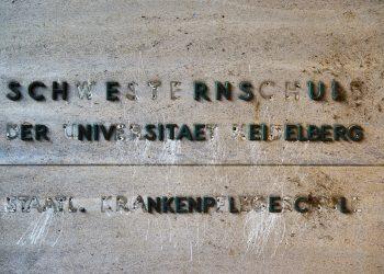 Kaum noch zu erkennen: Die einst prestigeträchtige Schwesternschule ist nun ein Geisterhaus. Fotos: Till Gonser