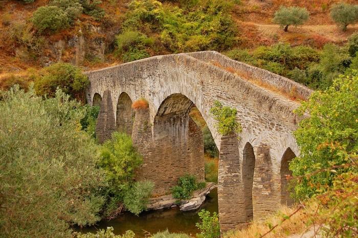 Ponte sobre o Rio Sabor - Vimioso