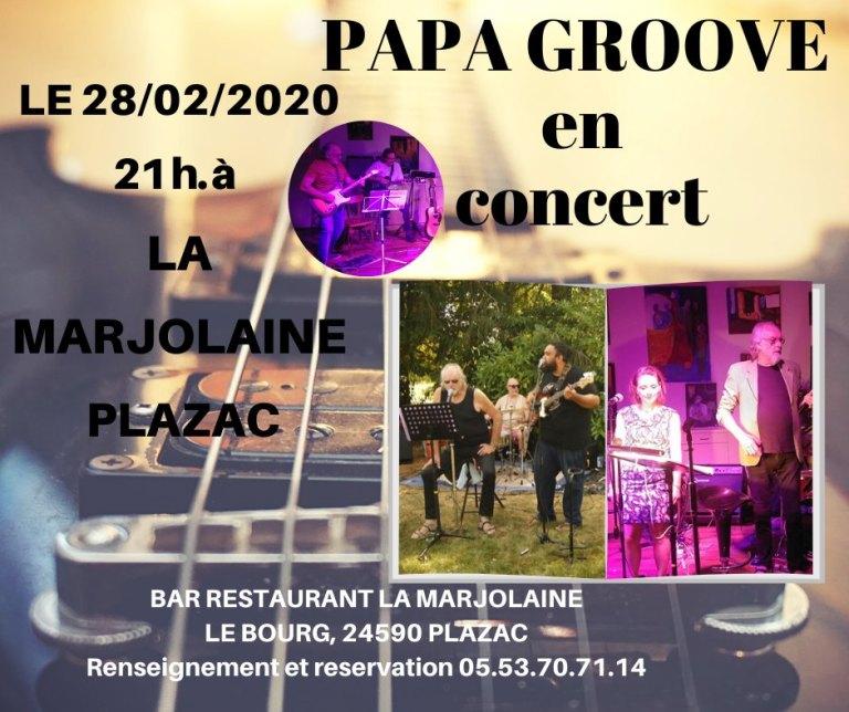 Papa Groove en concert 🗓