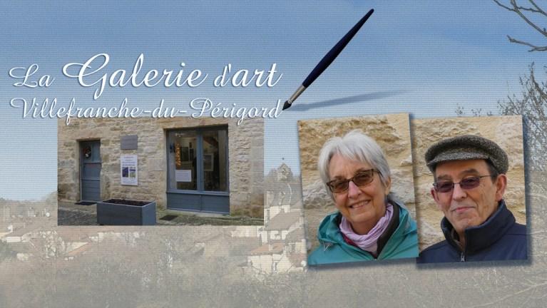 Maud et Salvatore ouvrent leur Galerie d'Art.