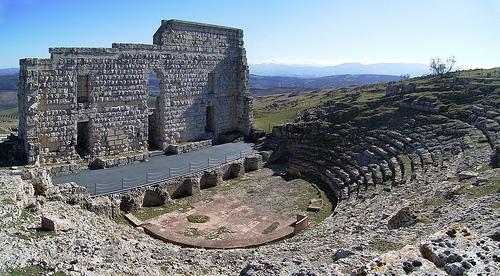Teatro-romano-de-Acinipo