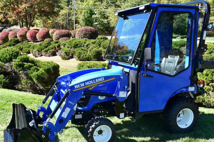 New holland offers a long list of attachments, implements and. Curtis Industries Introduces All Steel Cab For The New Holland Workmaster 25s Sub Compact Tractor Rural Lifestyle Dealer