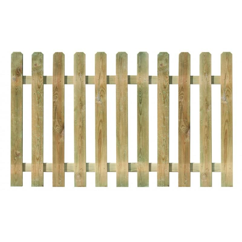 cloture bois mustang 180x100cm lame 15x90mm