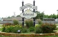 Halstead Wrestling receives donation from Denis Hornung of Cimarron
