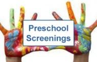 Goddard: Pres School Screening Clinic at St. Joseph Catholic School on Nov 18