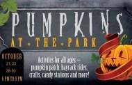 Goddard: Pumpkins at the Park inTanganyika Wildlife Park