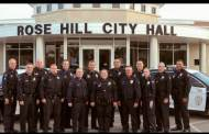Rose Hill PD is participating in the No-Shave November to help raise donations for battling cancer