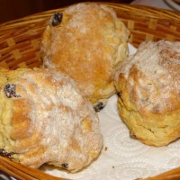 Sweet Irish Breakfast Scones Recipe