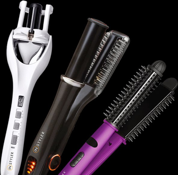 From Waves and Frizz to Smooth Finish with the InStyler ...