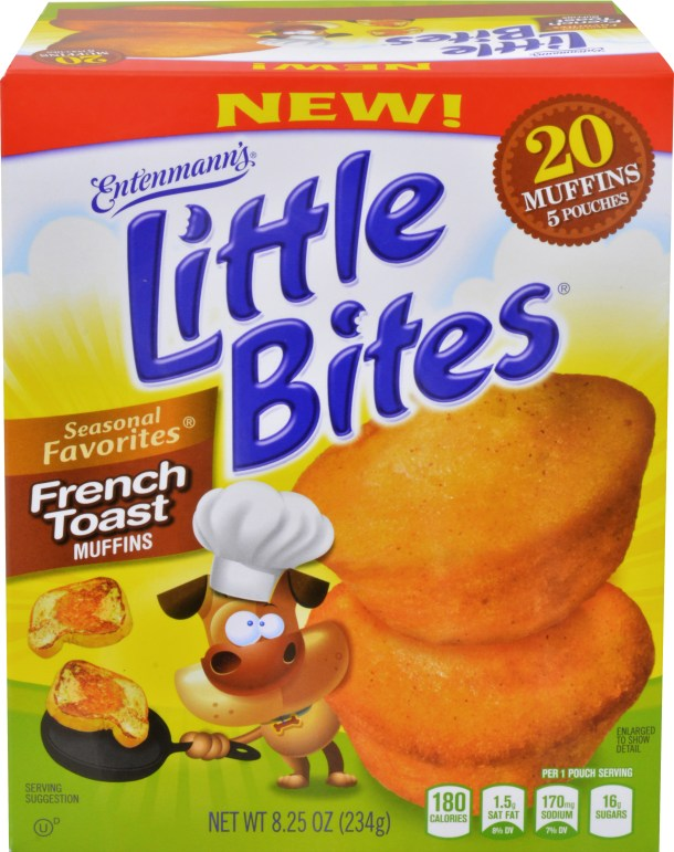 Little Bites Cinnamon French Toast Muffins Giveaway