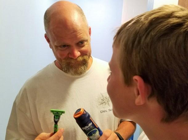 Mom Milestones – Shaving Tips For Teens with Gillette Mach3 SE #RednessFree