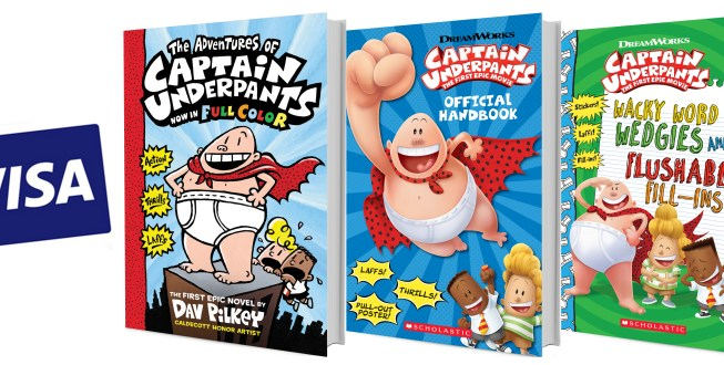 Captain Underpants: The First Epic Movie Giveaway! #CaptainUnderpants