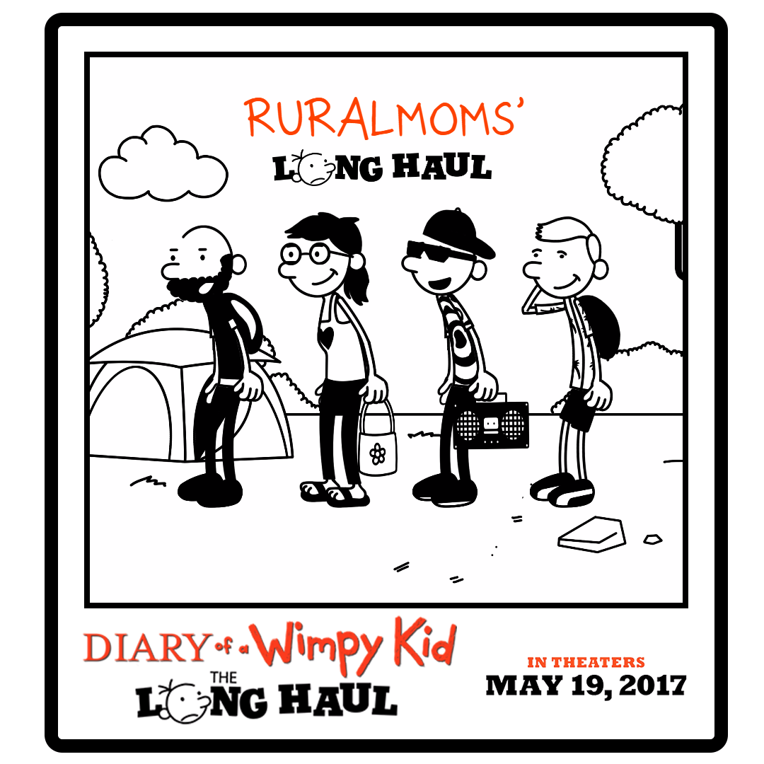 Wimp Yourself Diary Of A Wimpy Kid The Long Haul Giveaway Rural Mom