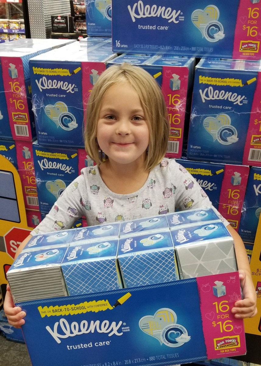 Back-to-School This Year, Definitely a Kleenex Moment!