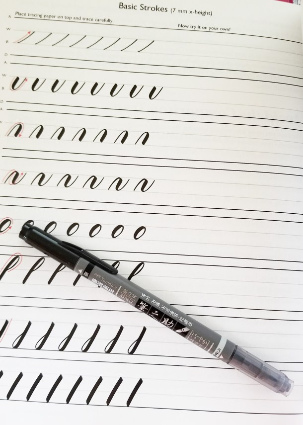 Brush Pen Lettering- The Art of Drawing Fancy Letters