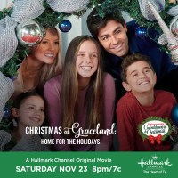 "Hallmark Channel's Premiere of ""Christmas at Graceland: Home for the Holidays"" on Saturday, Nov. 23rd at 8pm/7c! #CountdowntoChristmas"