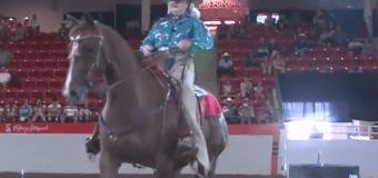 83 year-old Extreme Cowboy competitor still turning heads at Stampede