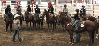Stampede 4-H Rodeo just around the bend