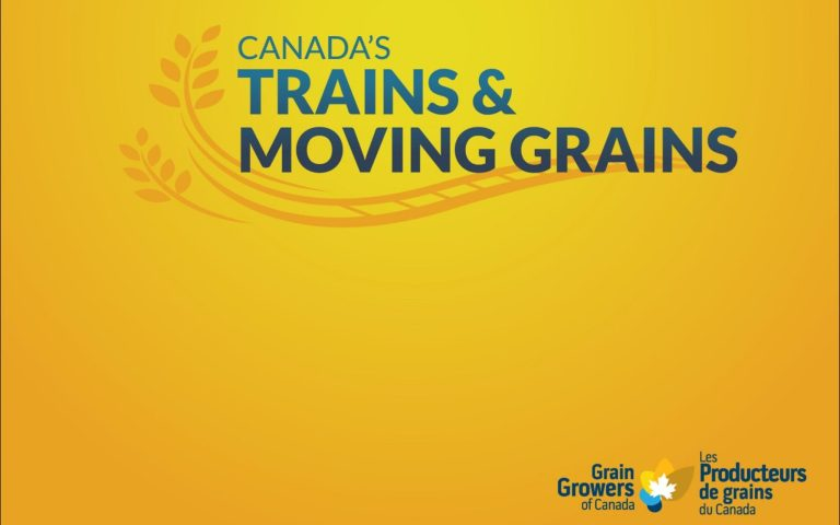 Canada's Trains & Moving Grains