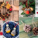 25 Magical Pine Cone Christmas Crafts Decorations Ornaments