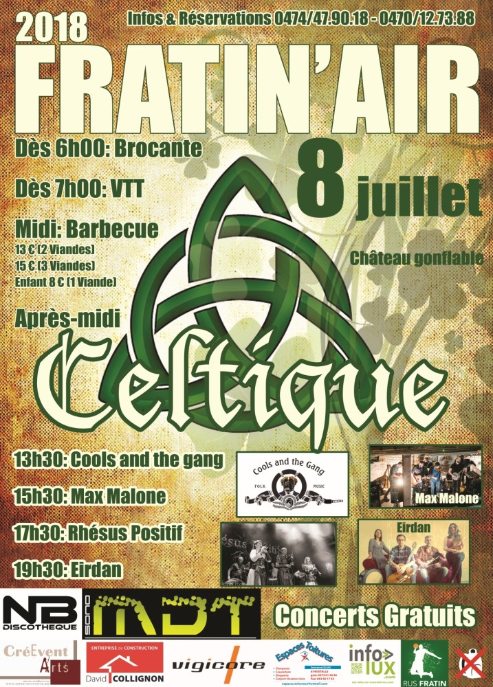 Fratin'Air : Celtique — 08 juillet