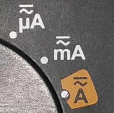 Jelenlegi erőmérés ikon