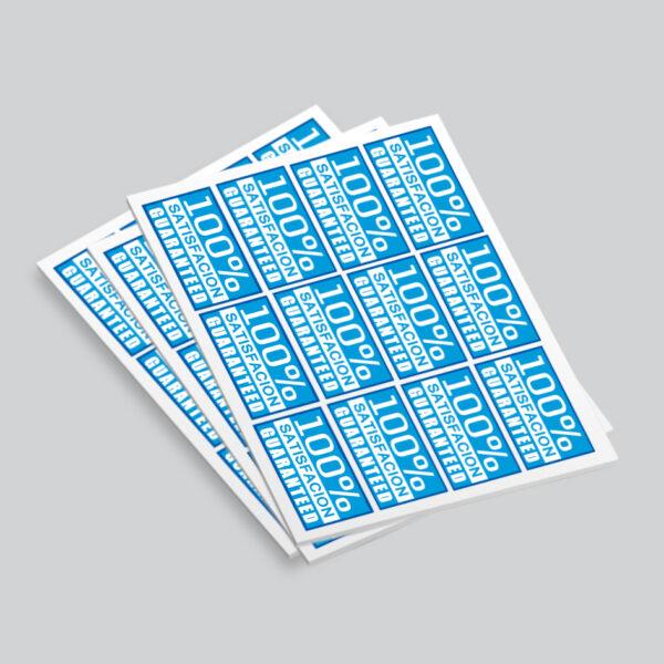 45x80mm Rectangle Sticker Printing Harrow | Rectangle Label Printing & Free Shipping