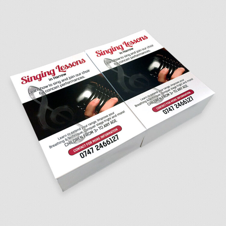 A6 Flyers A6 Leaflet Printing in Harrow UK | Ruhsprint