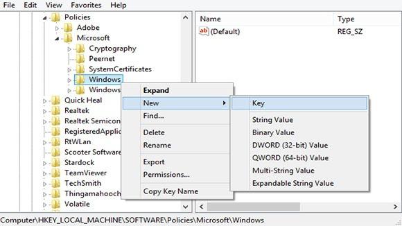 disable windows 8 lock screen