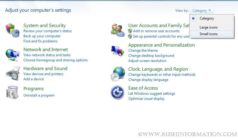 Disable Offline Files in Windows 7