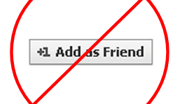 How to Remove Add Friend Button in Facebook