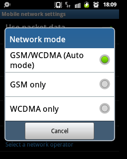 How to Switch/Toggle Between 2G and 3G Network in Android - 4