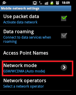 How to Switch/Toggle Between 2G and 3G Network in Android - 3