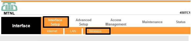 Change MTNL WiFi Modem Password - 3