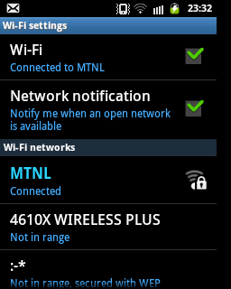 Wi-fi Error
