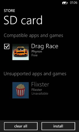 How to Install Windows Phone 8 Apps from SD Card