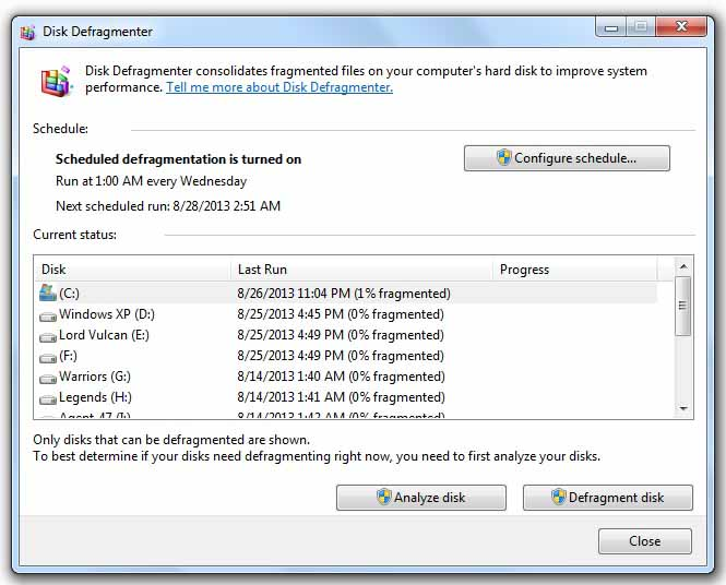 How to Increase Laptop's Performance - Disk Defragmentation