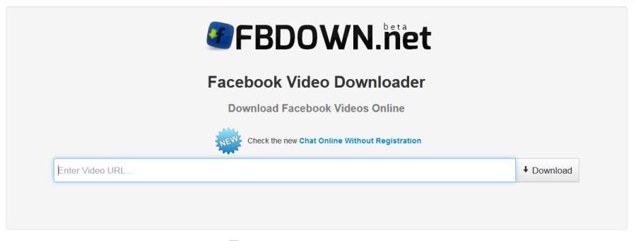 Download Facebook Videos Using FBDown