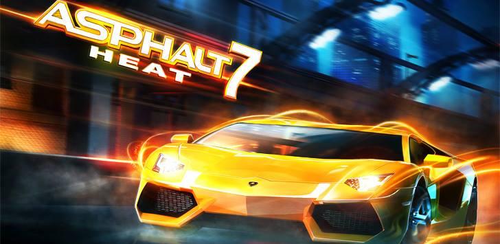 Asphalt 7 Heat for Nokia Asha 305,306,308,309,310,311 Download