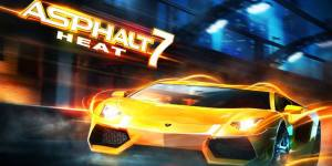 Asphalt 7 Heat for Nokia Asha Full Touchscreen Smartphones
