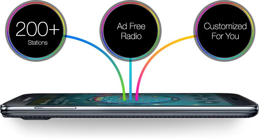 Samsung Free Music Streaming Service 'Milk music'