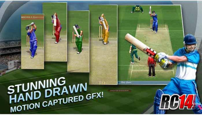 Real Cricket for PC and Android