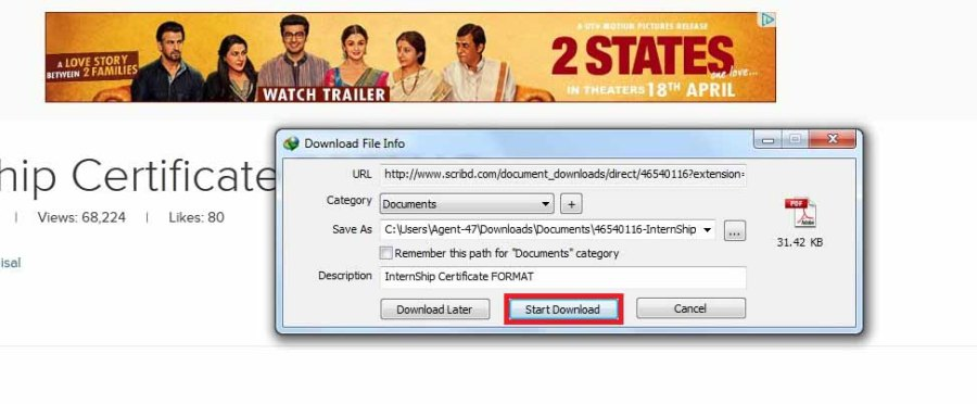 How to Download Files From Scribd FREE - Step 6